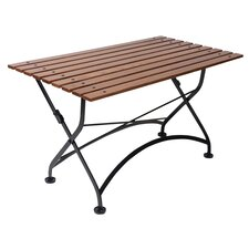 French Bistro European Café Folding Coffee Table