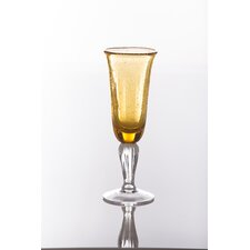 Bubble Champagne Flute Glass (Set of 4)