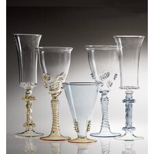 Abigails Ophelia 4 Piece Wine Glass and Champagne Flute Set (Set of 5)