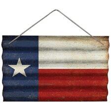 Texas Flag Corrugated Wall Décor