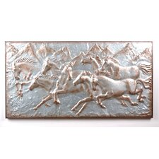 Horses Wall Plaque
