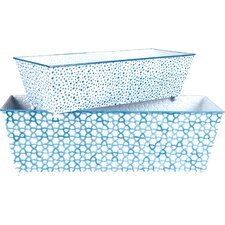 2 Piece Rectangular Window Box Set (Set of 2)
