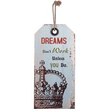 'Dreams' Wall Décor