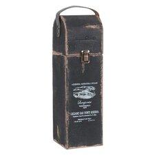 1 Bottle Tabletop Wine Cabinet