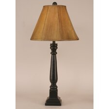 "Rustic Living Square Buffet 31"" H Table Lamp with Empire Shade"
