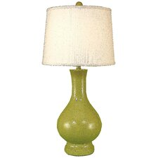 "Casual Living Contemporary Tear Drop 30.5"" H Table Lamp with Empire Shade"