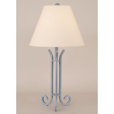 "Coastal Living Iron 28"" H Accent Table Lamp with Empire Shade"