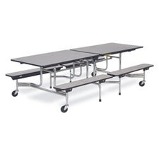 "Mobile 27"" Height Cafeteria Table"