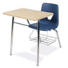 """2000 Series 31"""" Laminate Combo Chair Desk with Bookrack"""