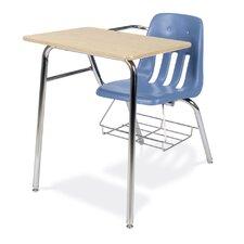 "9000 Series 30"" Laminate Combo Chair Desk"