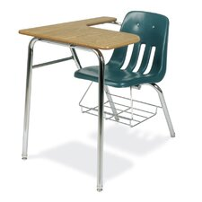 "9000 Series 30"" Plastic Classroom Combo Chair Desk"