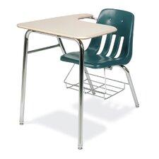 "9000 Series 30"" Plastic Combo Chair Desk"