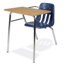 """9000 Series 30"""" Laminate Particleboard Combo Chair Desk"""