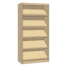"Single-faced Periodical Starter Library 82"" Standard Bookcase"