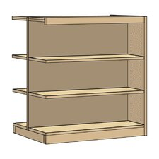 "Double-Faced Periodical 42"" Standard Bookcase"