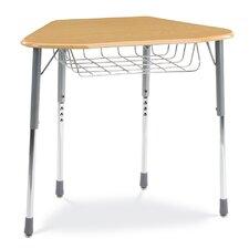 Zuma Plastic Adjustable Height Hexagon Desk