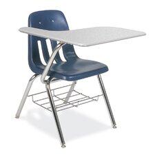 "9000 Series 18.125"" Plastic Tablet Arm Chair"