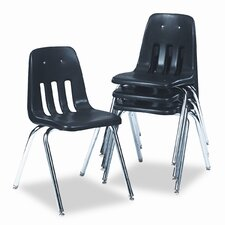 "9000 Series 30.63"" Plastic Classroom Chair (Set of 4)"