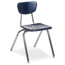 "3000 Series 18"" Plastic Classroom Chair (Set of 4)"