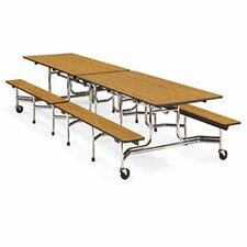 """Mobile 29"""" Height Cafeteria Table"""