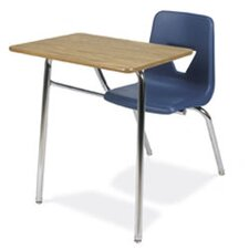 "2000 Series 31"" Laminate Particleboard Combo Chair Desk"
