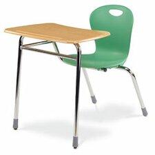 "Zuma Plastic 32.28"" Student Chair Desk Combo"
