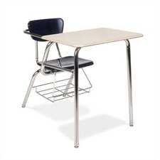 "3000 29"" Series Plastic Combo Chair Desk (Set of 2)"