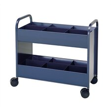 Utility Cart with 6 Bin and  2 Shelve