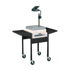 Adjustable Height AV Cart with Overhead Projector