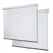 "Matte White 60"" H x 60"" W Projection Screen"