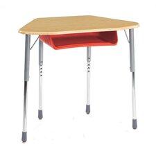 Zuma Plastic Trapezoid Desk (Set of 2)