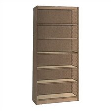 "Single-faced Starter Library 82"" Standard Bookcase"