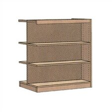 "Double-faced Library 48"" Standard Bookcase"