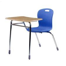 "Sage Series 34.5"" Plastic Student Combo Desk"
