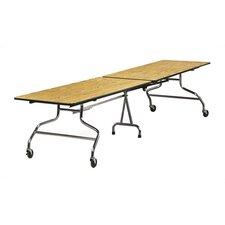 Rectangular Mobile Duofold Table