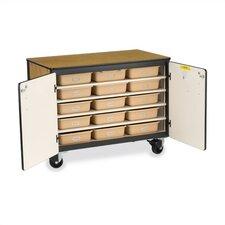 "36"" H x 48"" W x 28"" D Mobile Storage Cabinet"