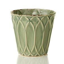 French Market Decorative Ceramic Glazed Container (Set of 6)