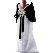 Dr. Zhivago Velvet Jeweled Wine Bottle Cover (Set of 6)