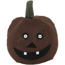 Halloween Folk Art Round Cloth Pumpkin