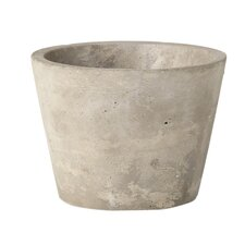 Industrial Garden Round Pot Planter