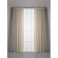 Whisper 100% Rod Pocket Single Panel Window Treatment