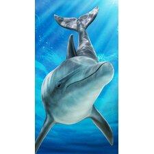 Sea Dolphin Beach Towel