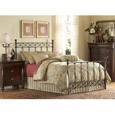 Argyle Metal Panel Bed