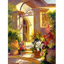 Fragrant Entrance by Betty Carr Painting Print on Wrapped Canvas