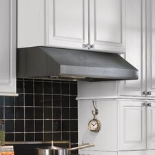 Under Cabinet Hood with Bullnose Lip