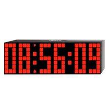 Large Lattice LED Multi-Alarm / Countdown / Up Clock with Remote