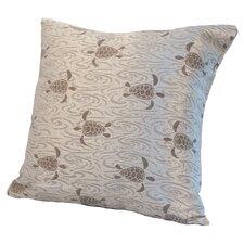 Coastal Sea Turtle Throw Pillow