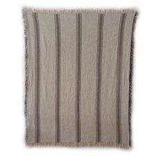 Vintage Hathaway Cotton Stripe Throw Blanket