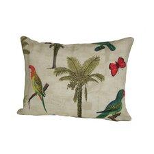 Coastal Hearts of Palm Indoor/Outdoor Lumbar Pillow