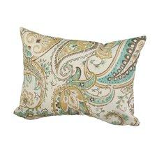 Hadia Paisley Indoor/Outdoor Throw Pillow